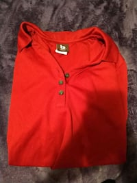 Red collared button up shirt mens&womans Panama City Beach, 32407