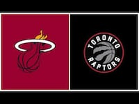 Raptors vs. Heat, April 7 – Lower Bowl, Aisle Toronto