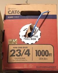 Cat 6 Ethernet Networking Cable