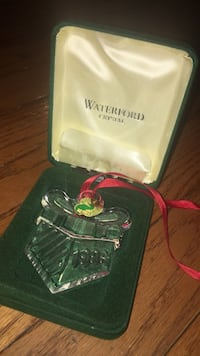 Waterford 1996 gift ornament memories collection Germantown, 20876