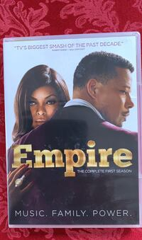 Empire Season 1 DVDs