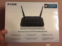 D-link wireless N dual band router Toronto, M6J 2P6