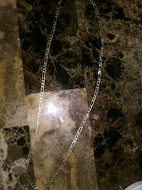 silver-colored figaro chain necklace Redding, 96002
