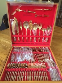 Flatware setting for 12 ,total of 145 pieces Herndon, 20171