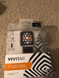Black iPhone watch band