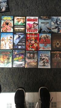 All dvds are in great condition. You don't have to buy them all. Pick one you like  Frederick, 21701