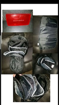 black and gray duffel bag Las Vegas, 89103