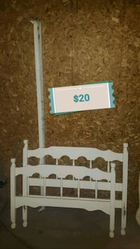 White Single Bed Frame Edmonton, T5E 3R3