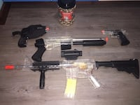 Airsoft Set w/Mask Lloydminster (Part), S9V 0J5