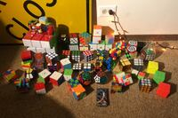 Rubiks cube and puzzle collection (59 puzzles)