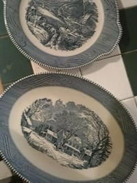 Currier and Ives platters Asheville, 28803