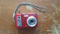 red Samsung 5430 point-and-shoot camera
