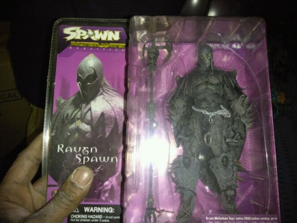 Spawn Raven of Spawn toy figure box