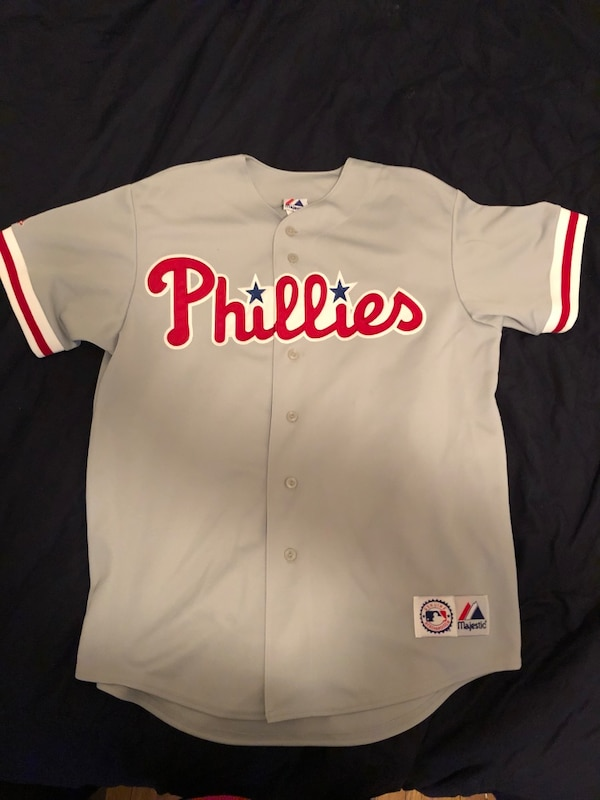 27ab944ff Used Phillies blank away jersey - large for sale in Media - letgo