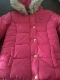 pink button-up Tommy Hilfiger coat Sleepy Hollow, 10591