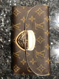 Brown louis vuitton monogram leather wallet Mc Lean, 22101