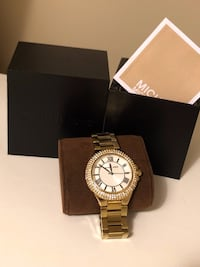 Michael Kors Gold Tone Watch Markham, L3P
