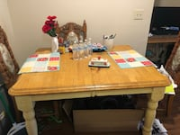 Solid wood table and 4 chairs  New Braunfels, 78130