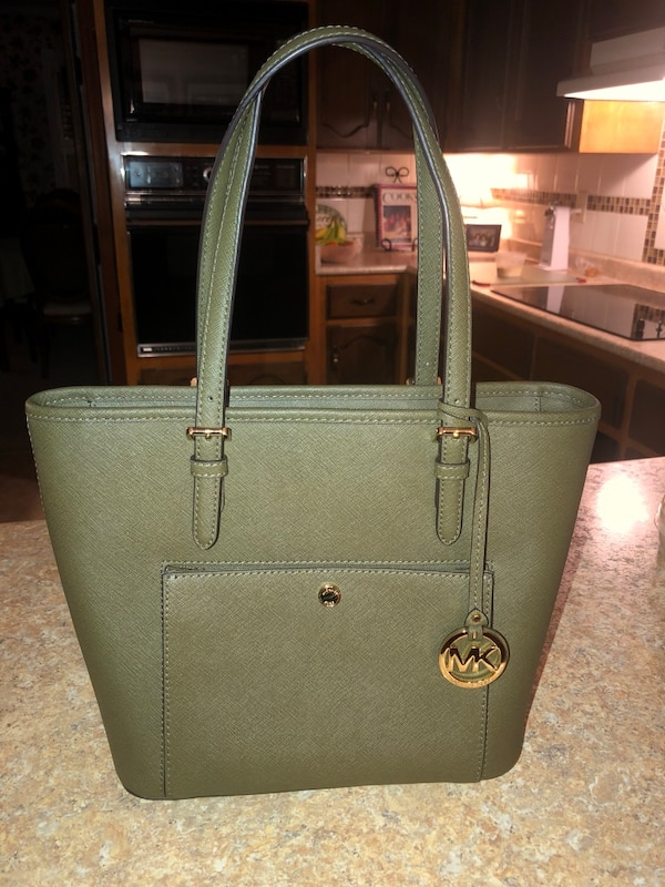 658ae5313b8a Used Michael Kors olive green purse for sale in Aiken - letgo