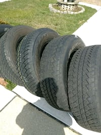 5 tires 255x70x18 off of jeep sahra Nottingham, 21236