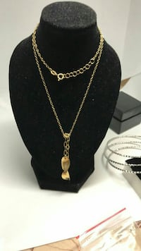 18k necklace 16""