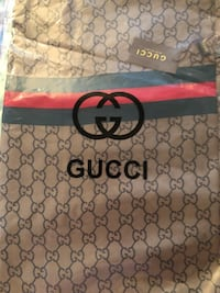 monogrammed brown Gucci leather bag Silver Spring, 20902