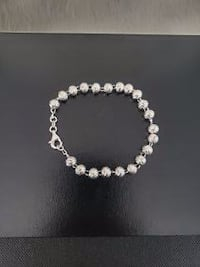 New Sterling Silver Bead Chain & Bracelet