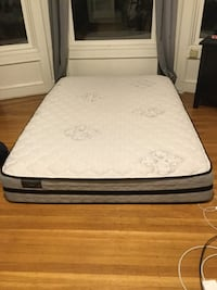 White and black bed mattress San Francisco, 94123