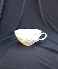 Meito Fine China, Flat Cup, Country Lane, 4 oz, Ja Hampton