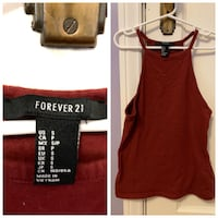 women's red sleeveless top Winnipeg, R3N 0W9