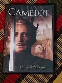 Brand new sealed  Camelot musical DVD Toronto, M2M 0B1