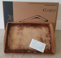 Pampered Chef Large Rectangle Bar Pan Baking Stone Cape Coral