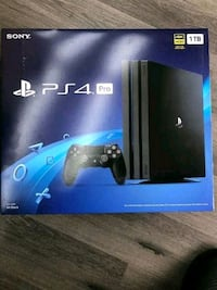 Brand new PlayStation 4 pro 1TB
