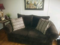 Sofa and love seat with pillows Jacksonville, 28546