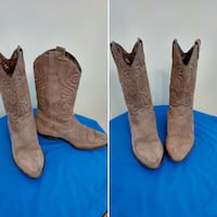 Women's Suede Cowgirl Boots Ontario, M1B 5R7