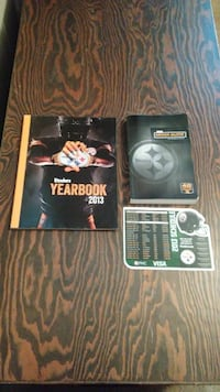 Pittsburgh Steelers Yearbooks And Media Guide (Just $5) Carlisle
