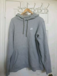 Nike Fleece Grey Hoodie XL