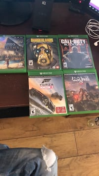 Xbox one games OBO null, V9A