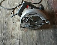 gray and black Craftsman circular saw Johnstown, 15909