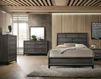 Special Offerr Akerson Gray 4 Piece Brand New Bedroom Set Columbia, 21044