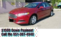 Ford - Fusion - 2016 $1500 Down Payment  Riverside