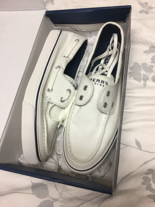 Sperry White Top-sider shoe 6497a7ca-3f9f-4635-abaf-eb03ba6d3eac