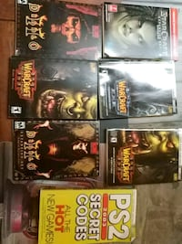 six assorted PS3 game cases Havelock, K0L 1Z0