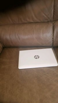 white and gray HP laptop Brampton, L6P 1N7