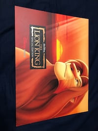 Disney Lion King Lithographs Edmonton, T5N 2P2