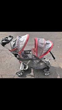 baby's gray and red stroller Orem, 84057