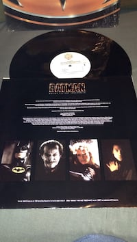 Batman vinyl disc