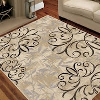 Better Homes and Gardens Iron Fleur Area Rug  Bristol