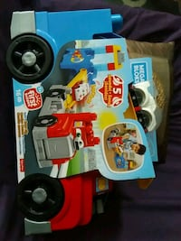 Mega bloks build and race rig toddler truck toy Toronto, M4C 4X6