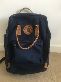 black and brown leather backpack Dagenham, RM10